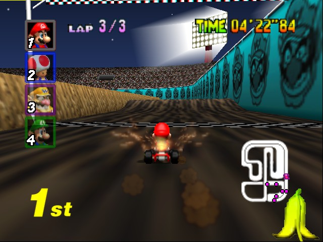 Mario Kart 64 - nnnnnnnnnNO u  don